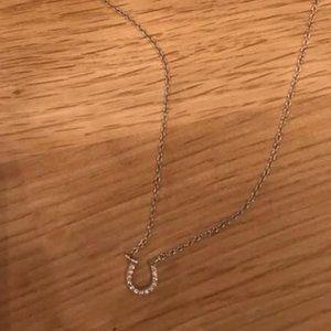 Tiffany necklace - Diamond Horseshoe pendant